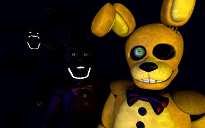 A Mediocre Springbonnie Poster Entry by JustaRandomGourgeist
