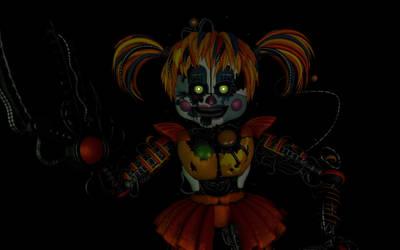 Freddy Files Scrap Baby remake by JustaRandomGourgeist