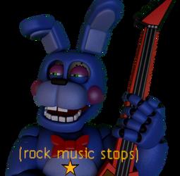 Rock Music Stops by JustaRandomGourgeist