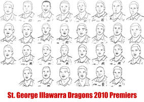 Dragons 2010 Premiers