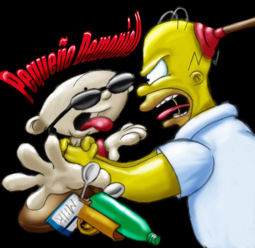 KND-Simpsons alfredofroylan2 by MrCapadochio