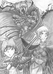 Deelit, Lina And Sir John by MrCapadochio