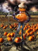 Pumpkin Thief by gregnan