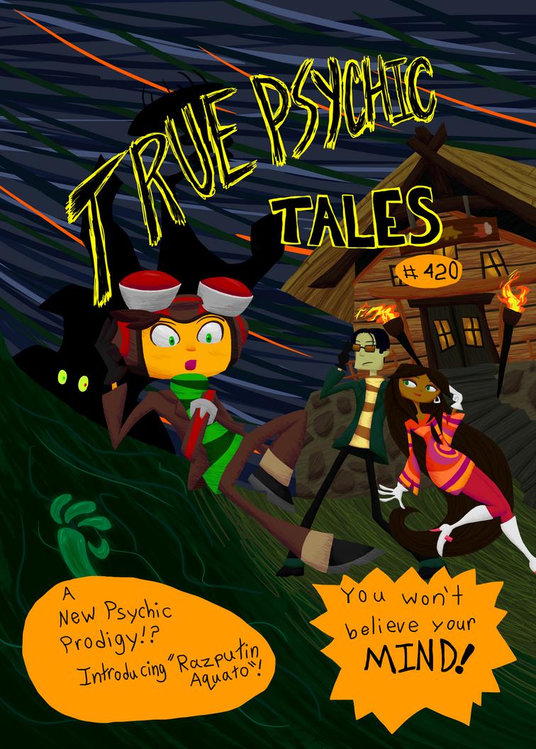 True Psychic Tales Comic Cover by HauntedLantern