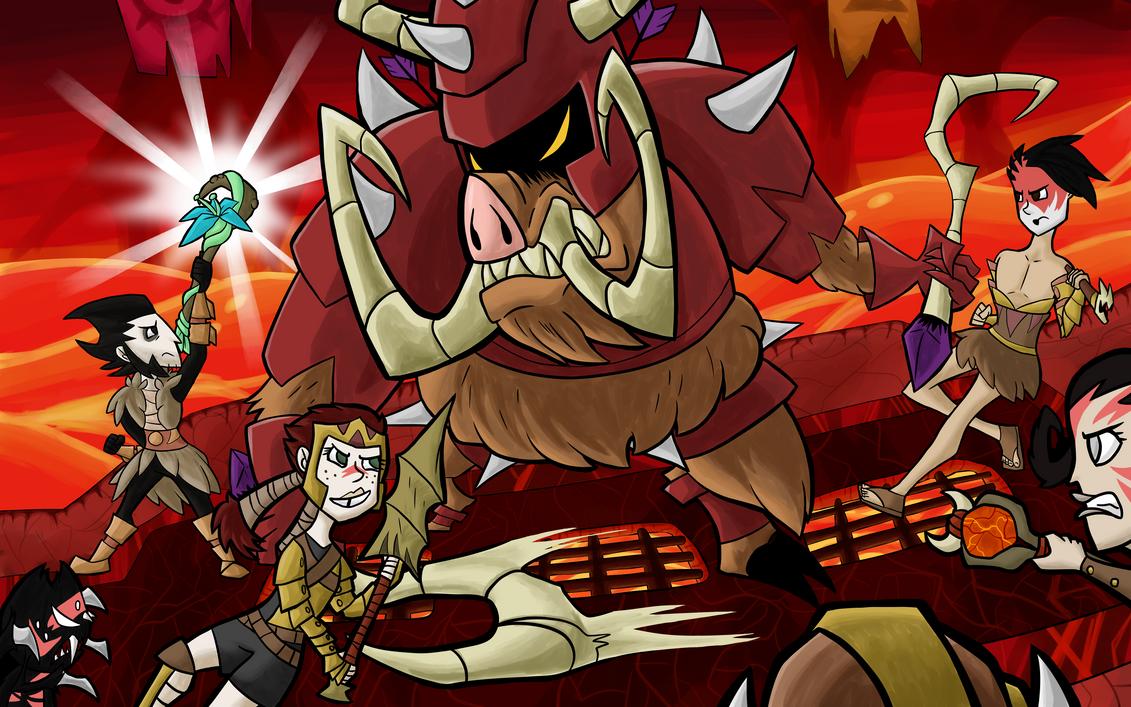 Grand Forge Borrior by HauntedLantern