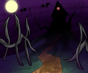 Drawtober ~ House by HauntedLantern