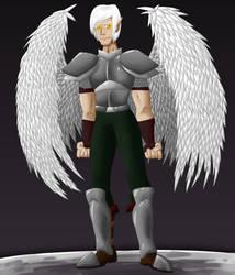 Draconic Angel by HauntedLantern