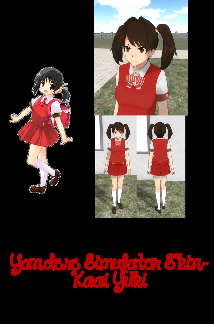 Yandere Simulator- Calista Skin by ImaginaryAlchemist on