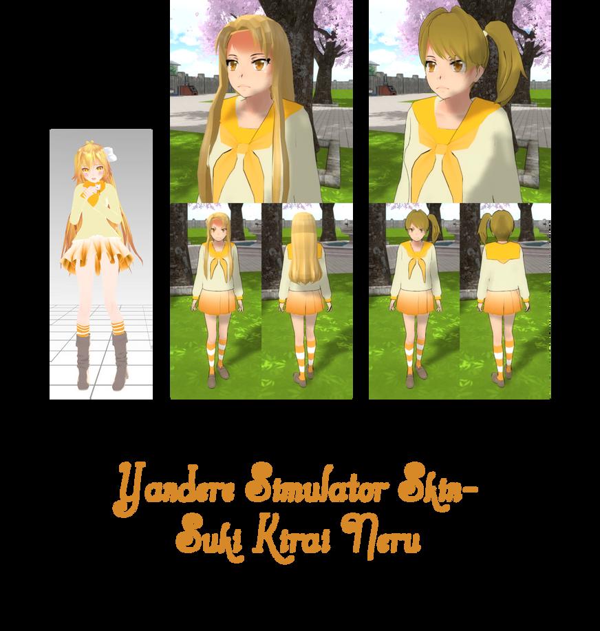 Yandere Simulator- Sekai Saionji Skin by
