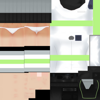 Agender Pride Uniform Texture by ImaginaryAlchemist