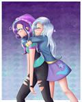 Hug! - Starlight Glimmer and Trixie Lulamoon