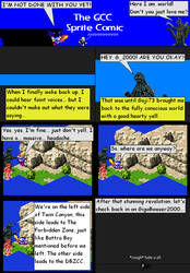 The GCC Sprite Comic 184 The Twin Canyon by Godzilla90sTK
