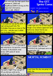 The GCC Sprite Comic 185 MORTAL KOMBAT! by Godzilla90sTK