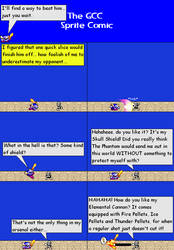 The GCC Sprite Comic 186 Never That Easy by Godzilla90sTK