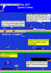 The GCC Sprite Comic 187 The Spy Who Was Genre by Godzilla90sTK