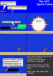 The GCC Sprite Comic 190 Spiral Power Version by Godzilla90sTK