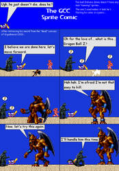 The GCC Sprite Comic 194 Giant Monster Battle by Godzilla90sTK