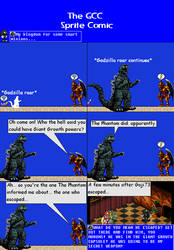 The GCC Sprite Comic 195 The Spy Who Was Informed by Godzilla90sTK