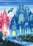 Castle Glass by Volcannah