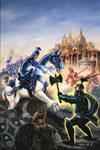 Combat of Elf and Ogre