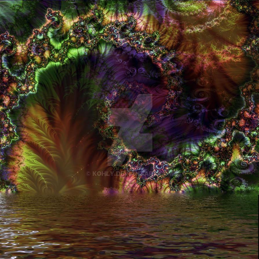 Alien Jungle by kohly