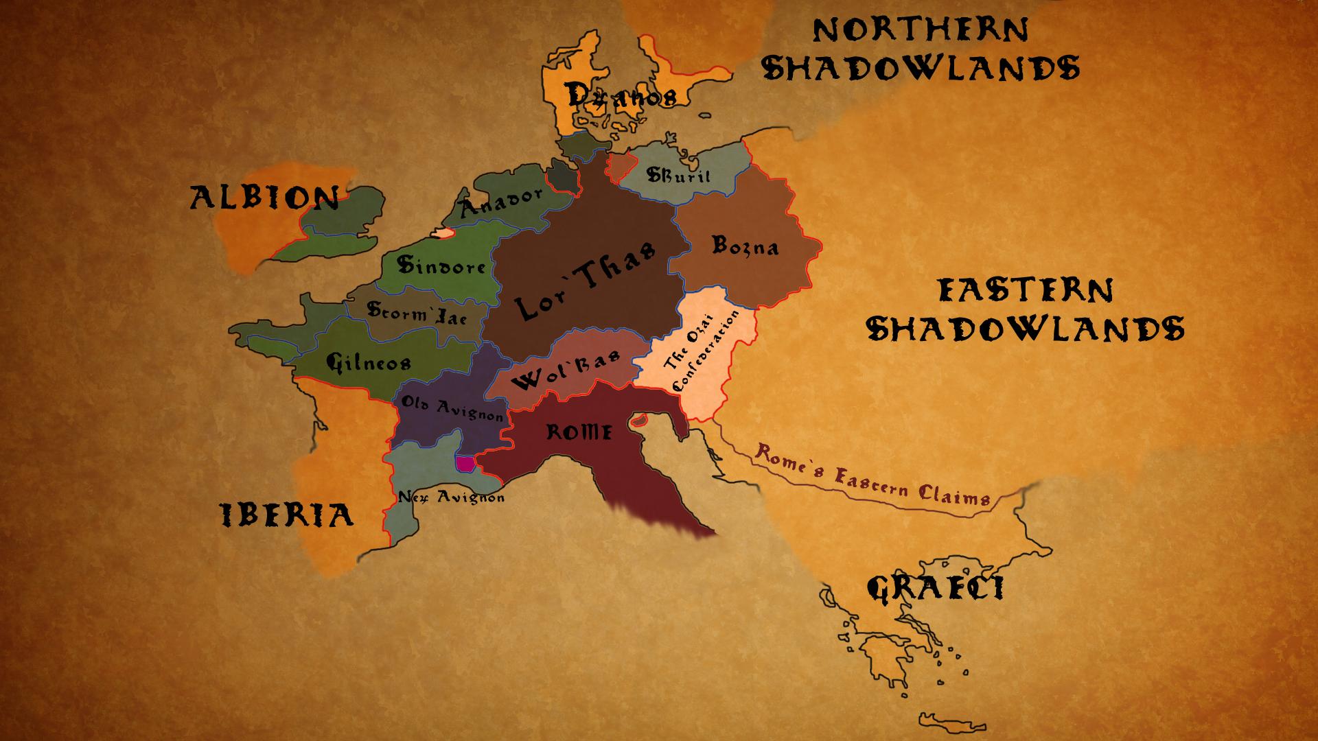 Lor'Thas Provinces by JerryFreeman