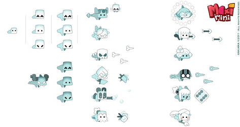 Maximini 2 : Ghost designs by sephyka