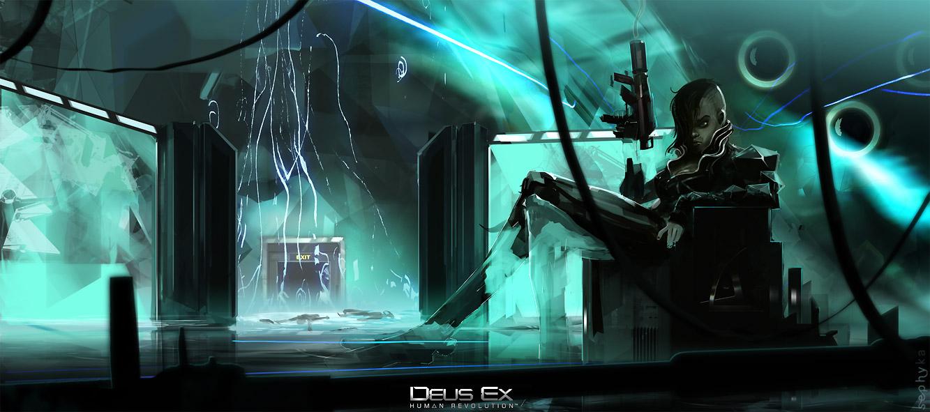 Deus Ex: Human Revolution - Yelena Fedorova by sephyka
