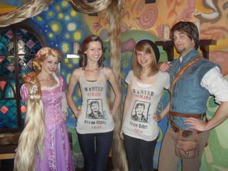 meeting flynn and rapunzel