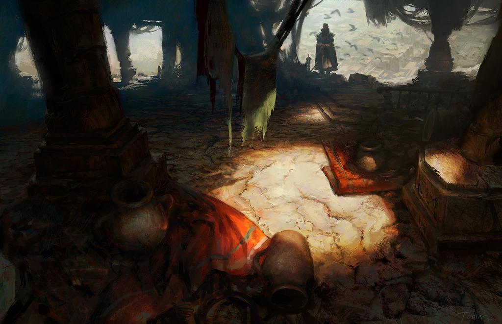 Dark Abode by StevenTobiasz