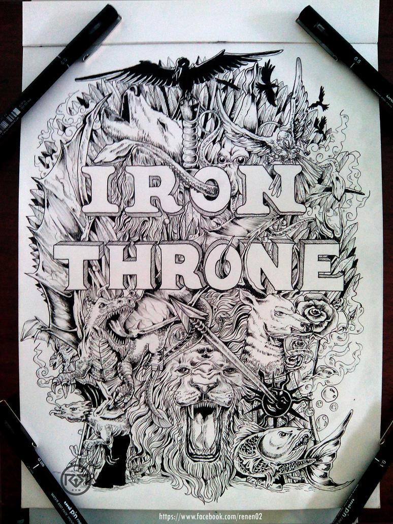 Iron Throne by renen02