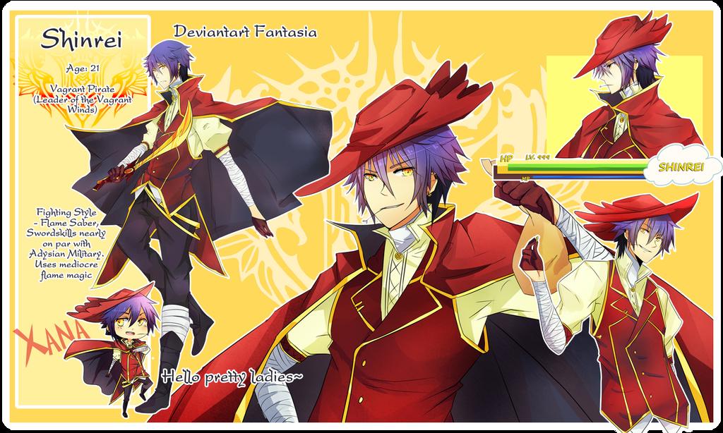 dAF: Captain Shinrei by Saiko-Akarui