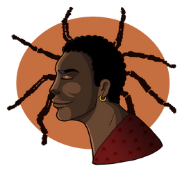 Anansi Boys - Spider by SlytherinsHeiress
