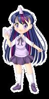 +MlP Keychain - Twilight Sparkle+