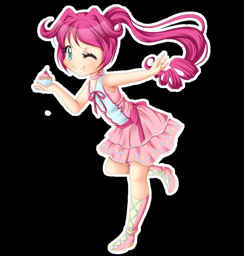 +MlP Keychain - Pinkie Pie+ by Amai--Kiss