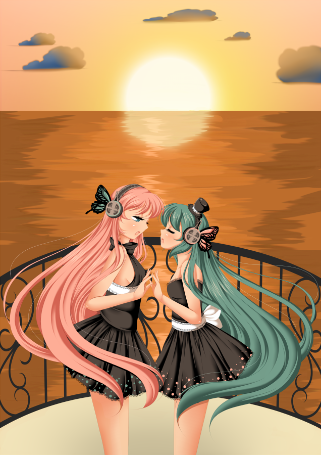 +Vocaloid Artbook - Magnet+ by Amai--Kiss