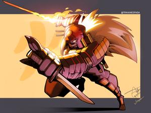 Heavy Armor: Cross Counter