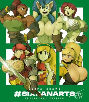 #SixFanarts Complete