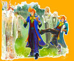 Fred and George Weasley: Veela cousins