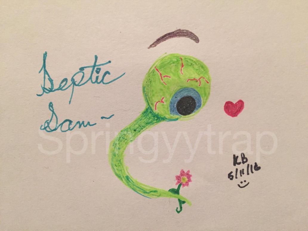 SEPTIC SAAAAAM! [Gel Pens] by oh-no-Castiel