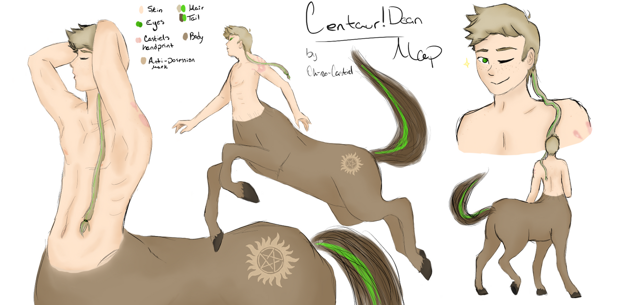 Centaur!Dean Map by oh-no-Castiel
