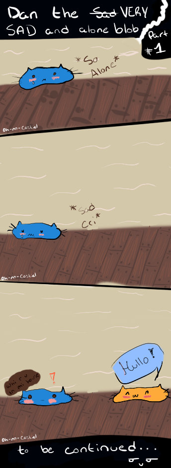 [PHAN] Dan The Very Sad And Alone Blob by oh-no-Castiel