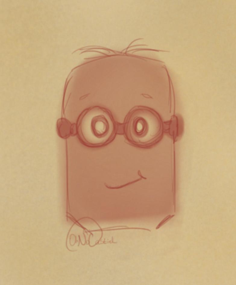 Minion Sketch-- by oh-no-Castiel