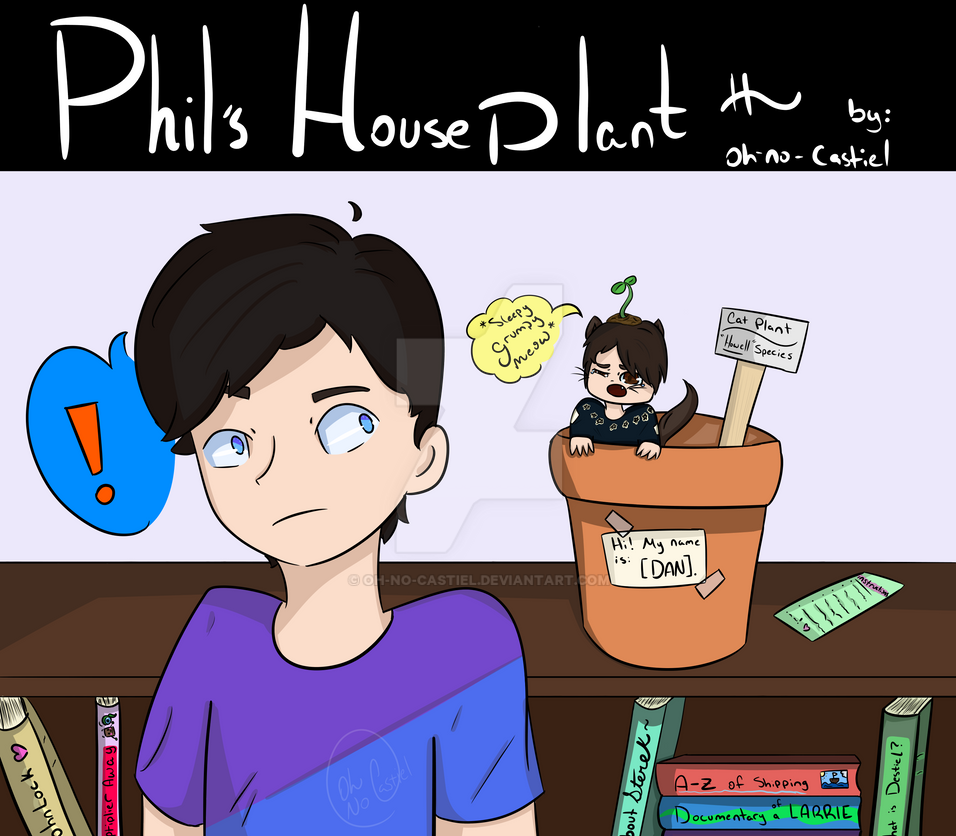 Phil's Houseplant [comic] by oh-no-Castiel