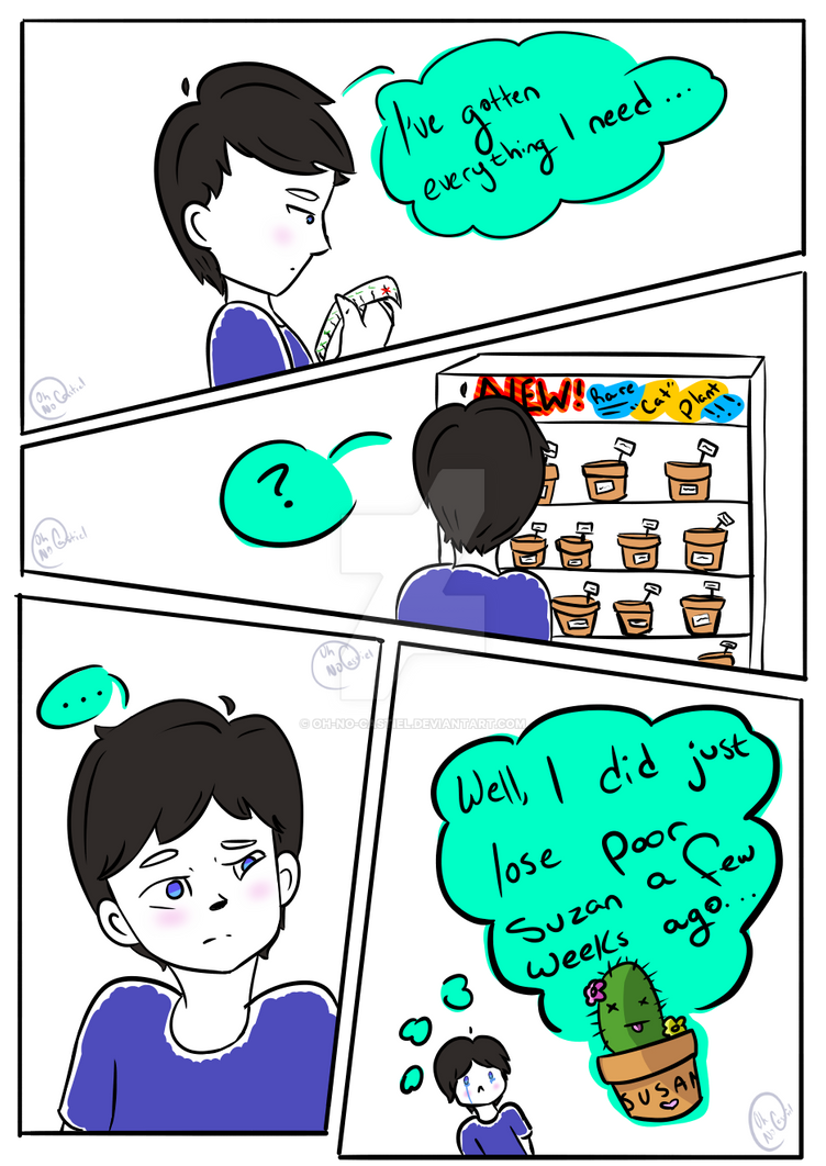 Phil's Houseplant [ PAGE 1 ] by oh-no-Castiel