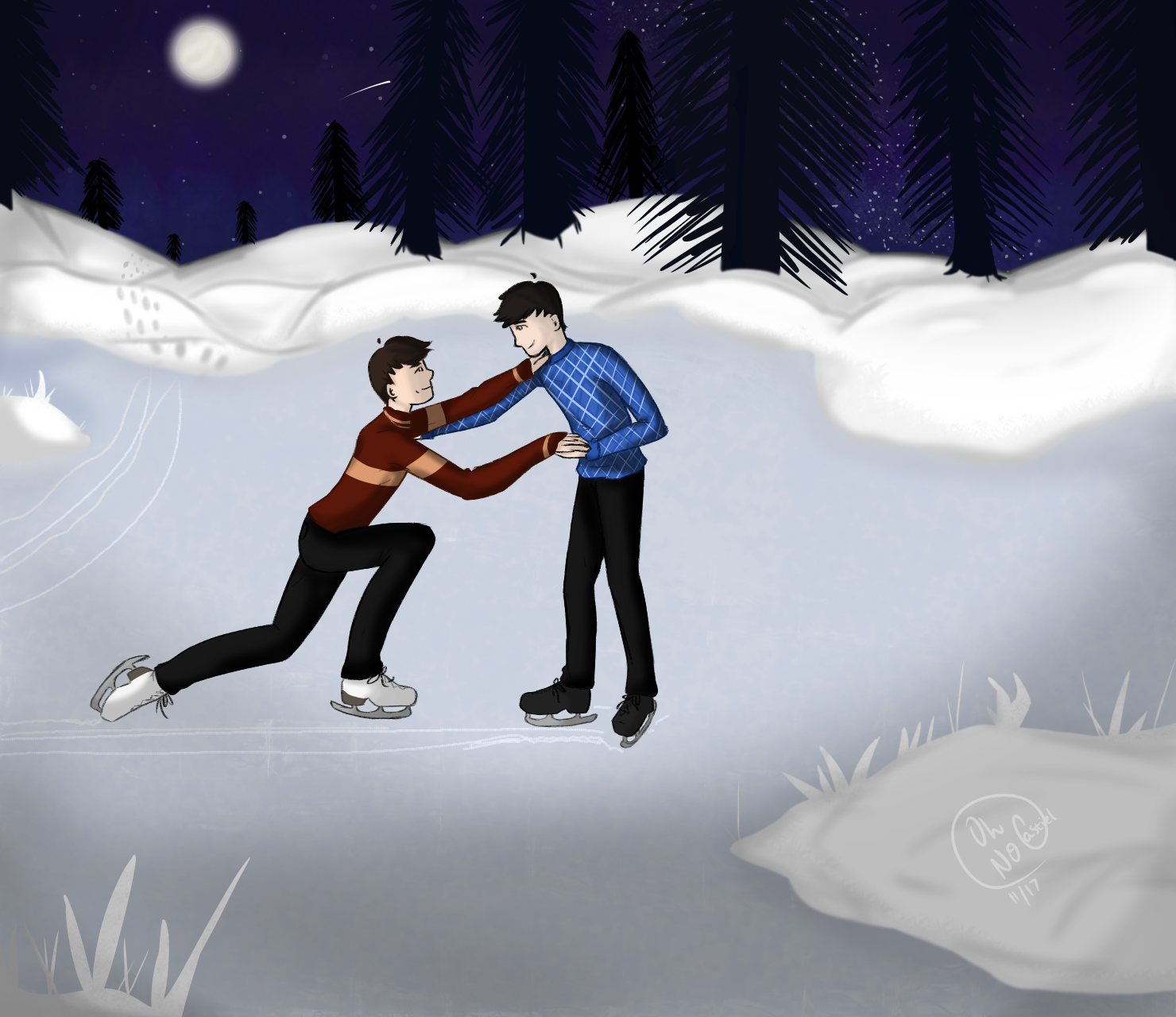 Don't Fall-- [phan] by oh-no-Castiel