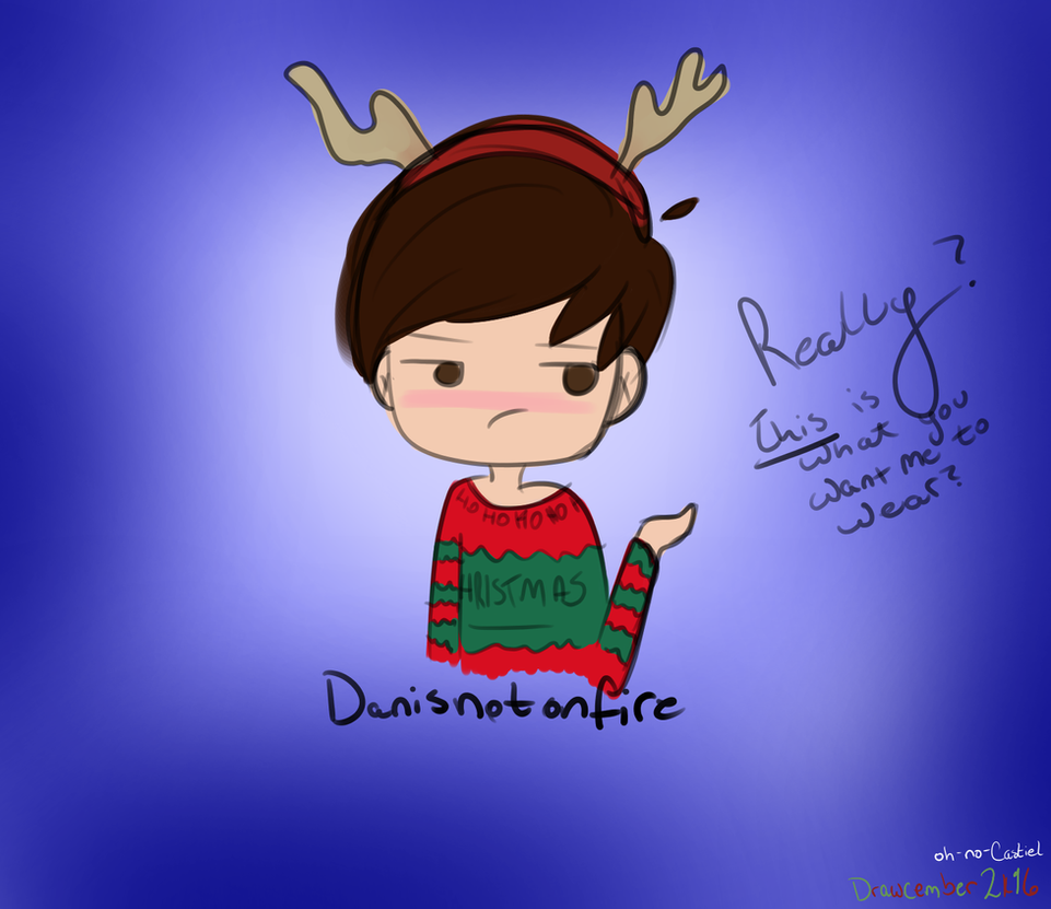 Really, Phil? [dan howell]-- Drawcember 4/16 by oh-no-Castiel