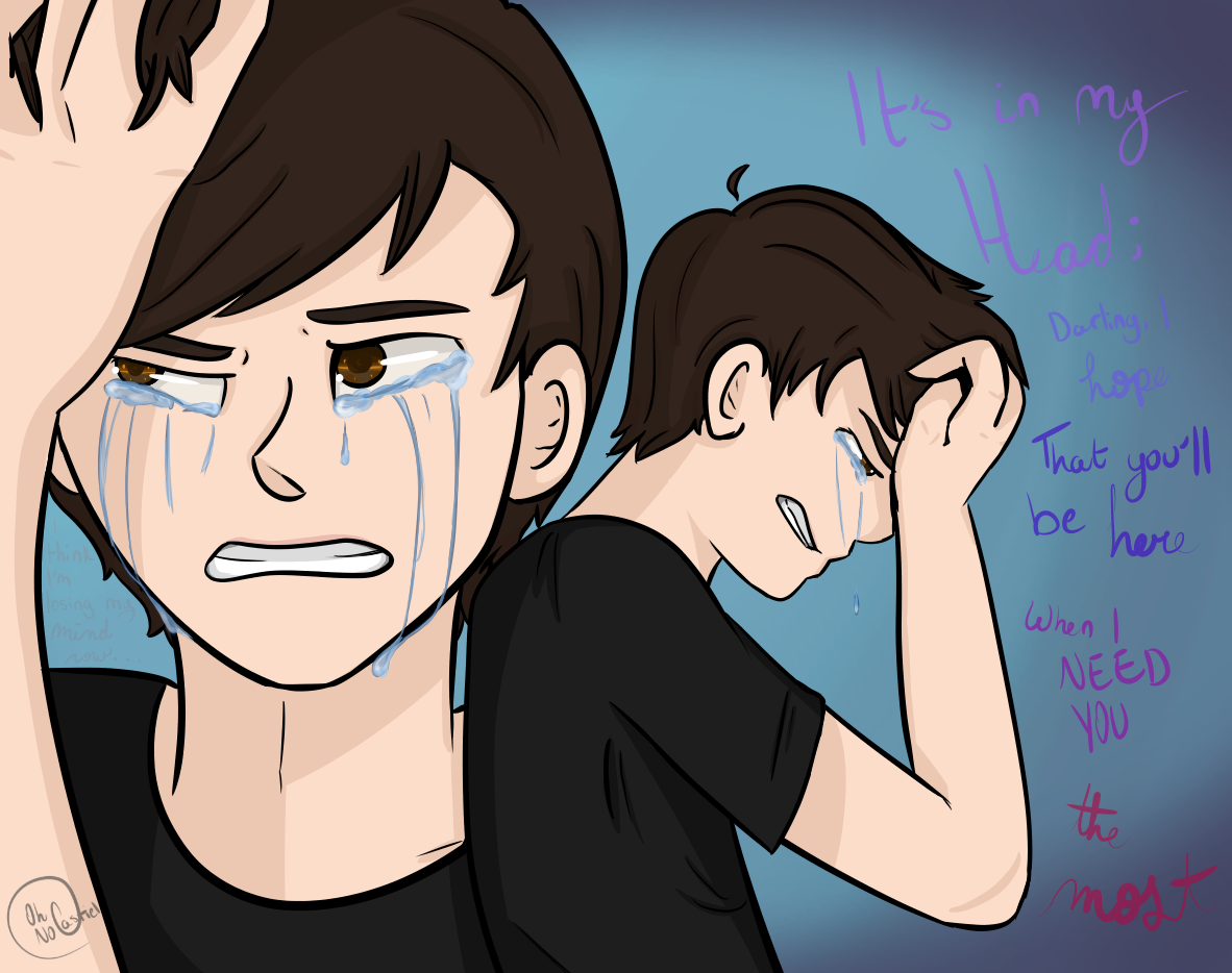 Don't Let Me Down (Dan Howell)-- [SPEEDPAINT] by oh-no-Castiel