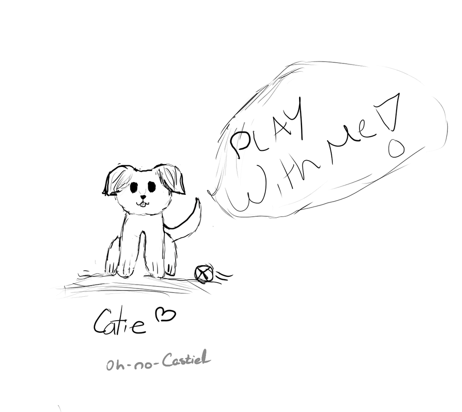 PUPPY ! [ by Catie ] by oh-no-Castiel