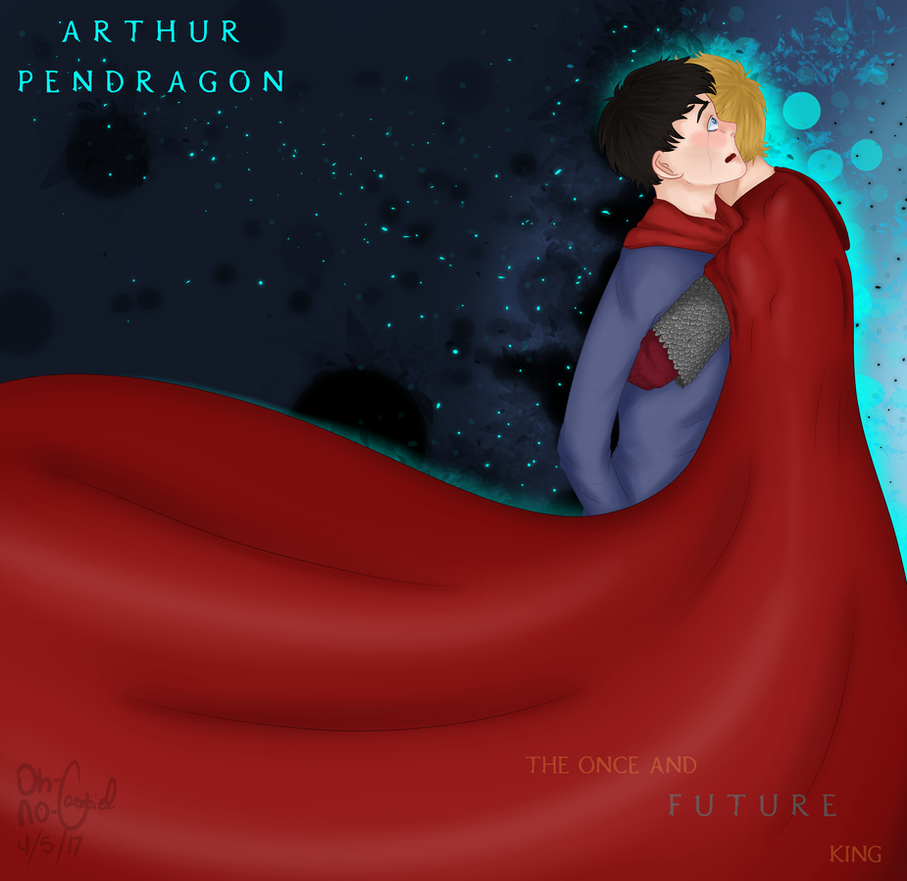 Once and Future [ Merlin//Merthur +SPEEDPAINT ] by oh-no-Castiel